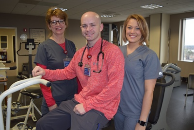 cardiac rehab staff