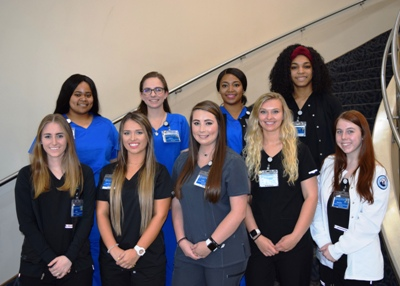 MUW Nursing externs 2019