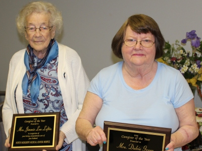 Hospice honors caregivers of the year