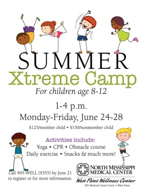 West Point extreme summer camp for kids