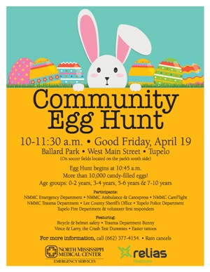 Community Egg Hunt Flier