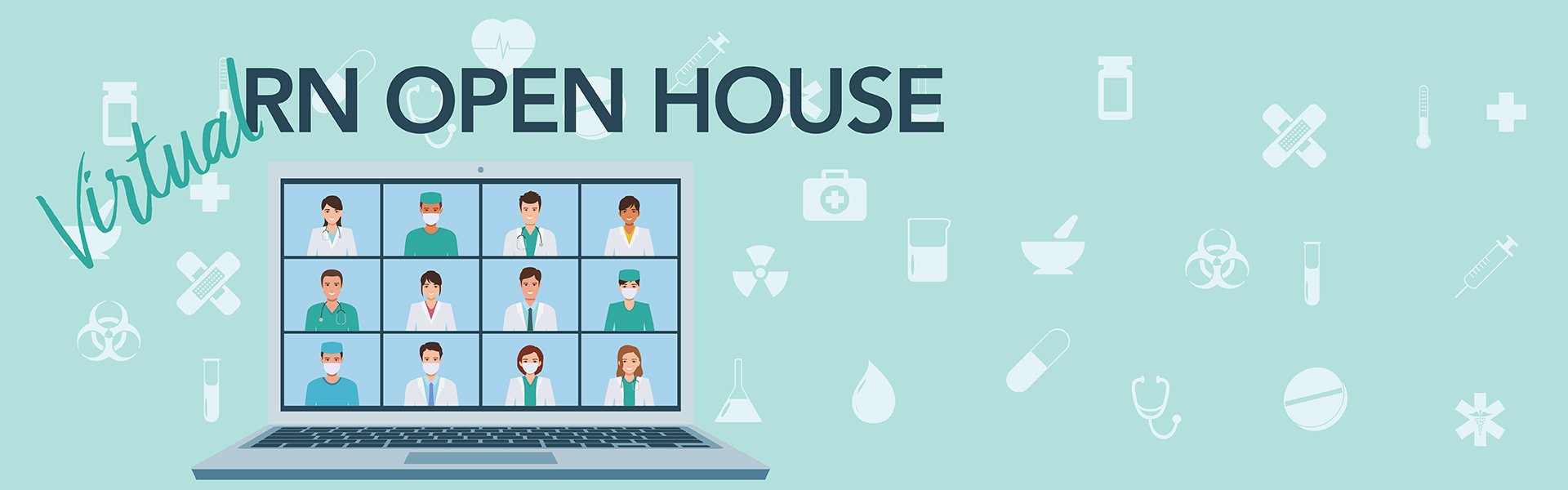 Virtual RN Open House banner photo